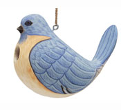 Fat Bluebird Bird House SE3880303