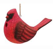 Fat Cardinal Bird House SE3880304