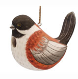 Fat Towhee Bird House SE3880305