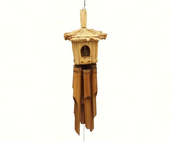 Square Straw Bamboo Windchime SE3880802