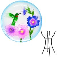 Hummingbird Bird Bath withStand-SE5001