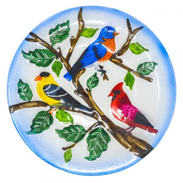 Songbird Trio Bird Bath