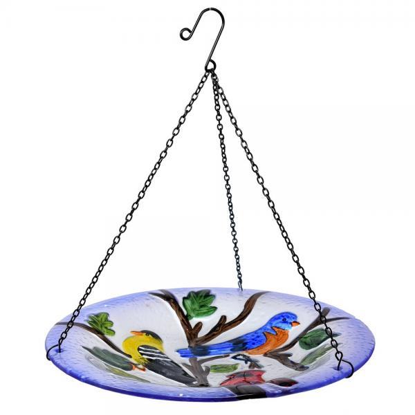 Songbird Trio Hanging Bird Bath