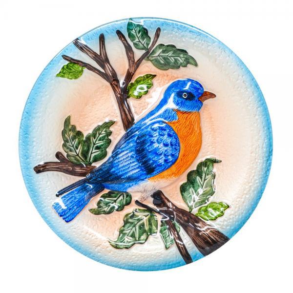 Bluebird Bird Bath