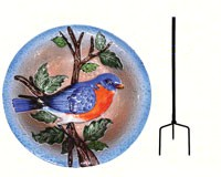 Bluebird Staked Bird Bath-SE5011