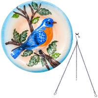 Bluebird Hanging Bird Bath-SE5012