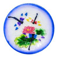 Dragonfly Trio Bird Bath-SE5013
