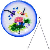 Dragonfly Trio Hanging Bird Bath-SE5016