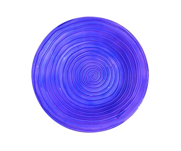 Purple Swirl Bird Bath SE5059
