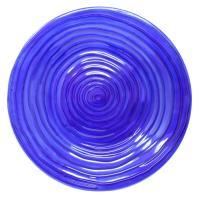 Cobalt Swirls Birdbath-SE5070
