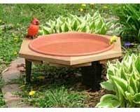 Classic 17 Garden Bird Bath SE508