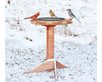Heated Bird Bath SE509
