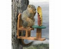 Recycled Poly Squirrel Feeder Table & Chair-SE526