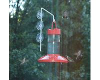 Dr. JB's 16 oz Hummingbird Feeder All Red withSE077 Hanger SE6002W