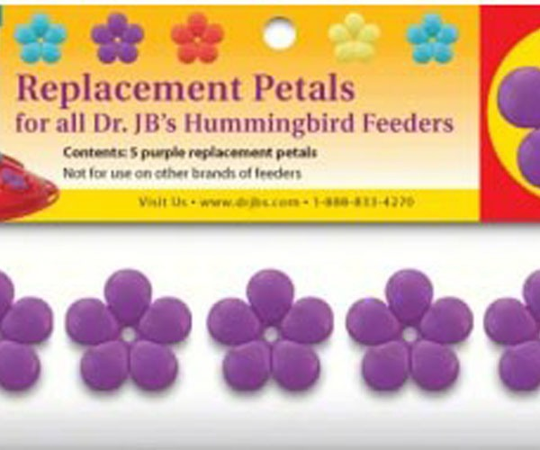 Pack of 5 Purple Replacement Blossoms SE6003'