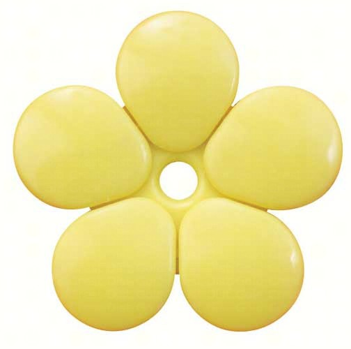 Pack of 5 Yellow Replacement Flowers SE6008