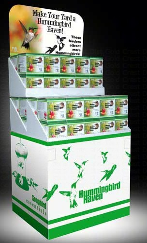 Hummingbird Display (30 SEBCO312W & 30 SEBCO312) SE6013'