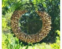 Whole Peanut Wreath Ring Black-SE6019