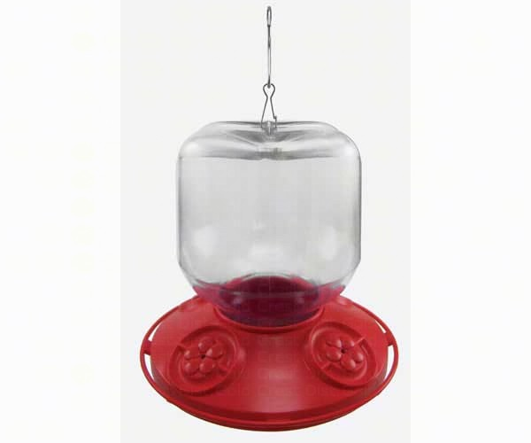 Dr. JB complete Switchable 32 oz Feeder with Red Flowers (Bulk) SE6025'