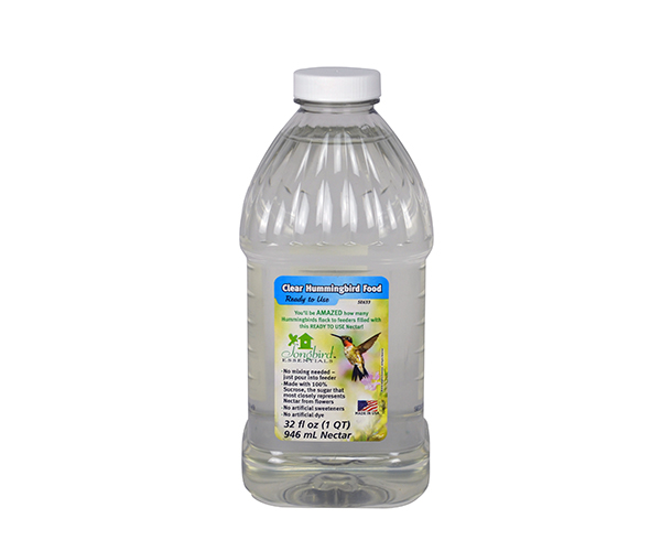 1 Quart (32 oz) Clear RTU Hum. Nectar SE633'