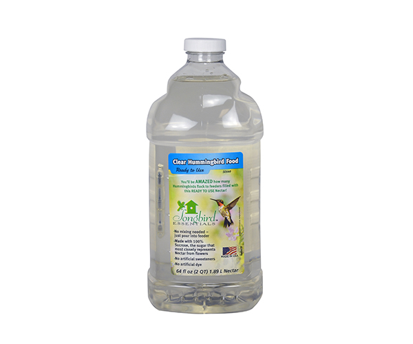 2 Quart (64 oz) Clear RTU Nectar