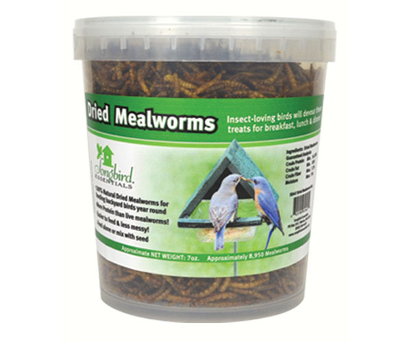 16 oz Tub of Dried Mealworms SE658