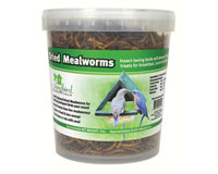16 oz Tub of Dried Mealworms-SE658