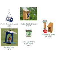Bluebird House & Feeder Bundled  Assortment-SE7001