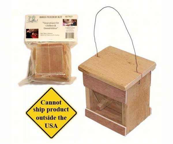 Bird Feeder Kit SE7025'