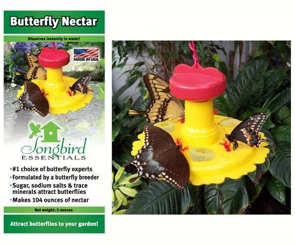 Butterfly Feeder / Nectar Combo SE78215'