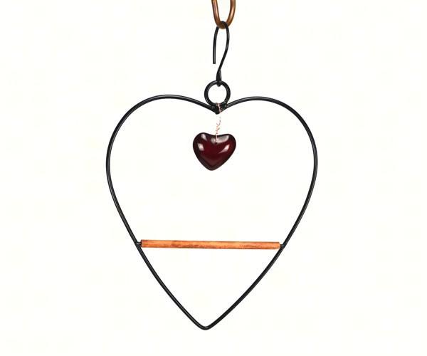 Tweet Heart Birdie Swing Black