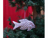 Ornament Punched Metal Fish SE9140104