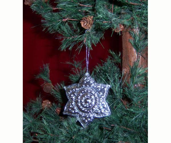 Ornament Punched Metal Flower SE9140105