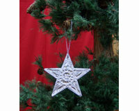 Ornament Punched Metal Star SE9140106
