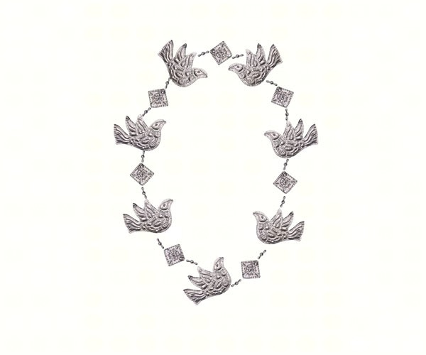 Garland Punched Metal Dove SE9140202