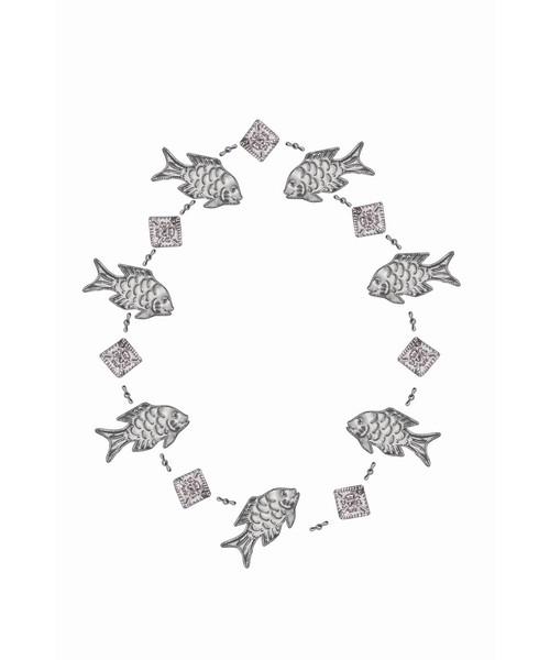 Garland Punched Metal Fish SE9140203