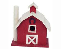 Vermont Dairy Barn Bird House-SE918