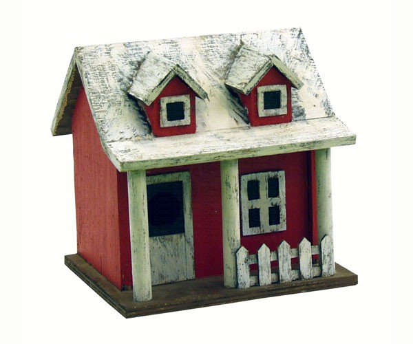 Picket Fence Cottage Bird House SE921'