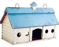 Blue Stable Bird Feeder Small SE924