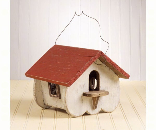 Bird House Canadian White SE926'