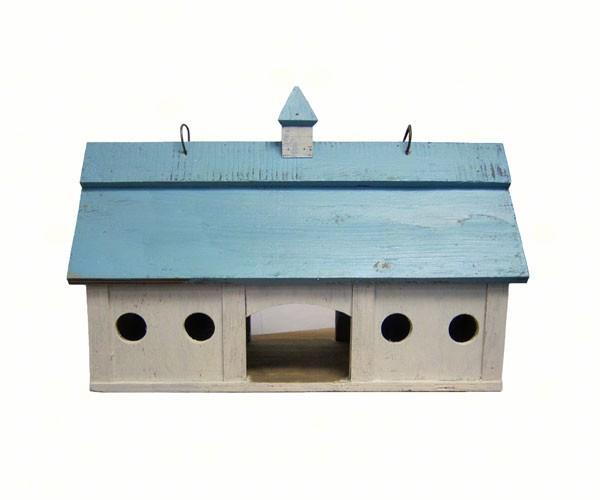 Blue Stable Bird Feeder Large SE951'
