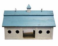 Blue Stable Bird Feeder Large SE951