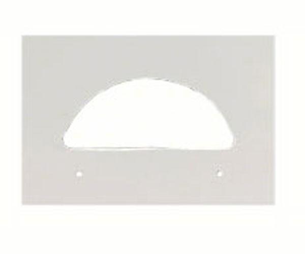 Plastic Crescent Replacement Plate SE962