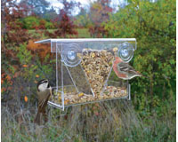 Clear View Hopper Window Feeder SE974
