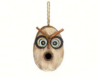 Retro Owl Bird House SE983