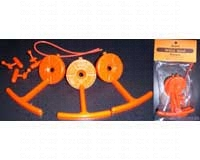 Orange Replacement Perch (consist of 3 perches, 3 toggles, and 1 wire)-SEBCO430R
