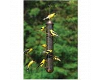 17 in. Green Spiral Finch Tube Feeder (SEBQSBF2G)