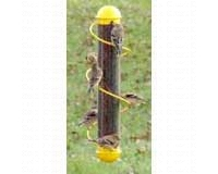 17in. Yellow Spiral Finch Tube (SEBQSBF2Y)