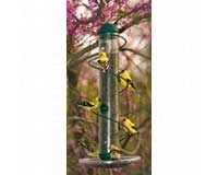 17 in. Green Spiral Sunflower Feeder SEBQSBF3G
