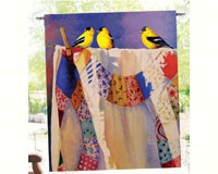 Birds of a Feather Goldfinches Garden Flag-SEEK6609